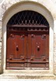 la porte du château de Clermont