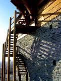 ombre de l'escalier