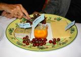 le deuxième plateau de fromages