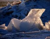 Origami de glace