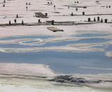 La marina de Sillery en hiver