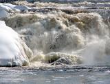 tumultueuse cette rivière