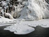 flaque de neige