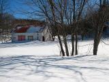 La grange, Village-des-Aulnaies
