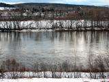 Rivière Madawaska en avril