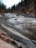 la rivière du Moulin à Chicoutimi