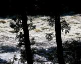 la rivière Montmorency aux marches naturelles