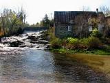 le vieux moulin de la rivière Trois Saumons