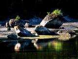 les rochers de lumière