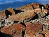 les rochers de rouilles