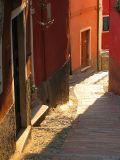 Lerici,  la ruelle du château