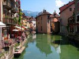 La vieille ville d'Annecy et le Thiou