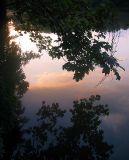 Reflets sur l'Oise un jour de juillet