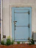 La porte de l'écluse du bassin Louise