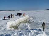 le fleuve gelé