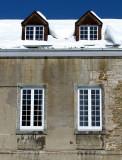 les fenêtres de l'armurerie