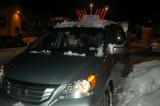 Erev Chanukah5769 - SnowMan&Igloo, then Lights