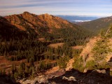 Bear Lake Valley and Red Rock Ridge