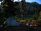 Camp 2 at Margurette lake