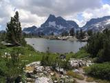 Banner and Ritter Peaks in Ansel Adams Wilderness