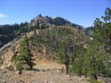Kings Castle from the north along the PCT