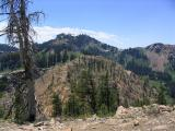 Kings Castle viewed from the north on the PCT