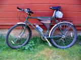 1983 Schwinn High Sierra mtn bike, my daily commuter - 28 yrs old!