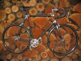 Vintage 1970s carbon frame single speed