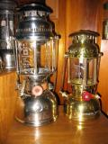 Aida Express and Optimus 200 Kerosene lanterns