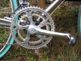 Merlin's Grafton triple crank 53-39-26, trick drillium!