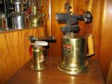 Lenk Alcohol and Coleman brass  blow torches