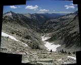 Canyon Creek view from Grizzly lake arete