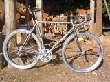 Merlin with the Shamal aero wheels