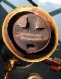 Primus 22B left burner close up