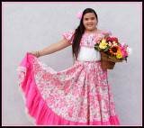 Mexican Folk Costume - Somerton 2010 Tamale Festival