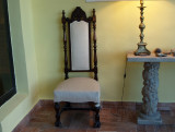 2 Nice old chair at our hotel in Las grutas Argentina 20101031b.jpg