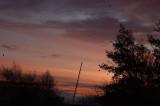 13th November 2008  red sky