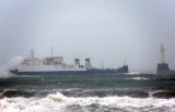 21st October 2009  storm at sea