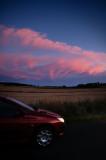 10th September 2010  pink sky
