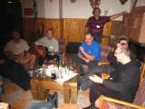 Less informal talks among Slovak and Polish participants