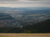Banska Bystrica from top