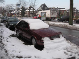 8 december 2005 - Remnants of large snowfall in Enschede