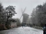 011 - Ankeveense plassen: De molen gezien vanaf het ijs