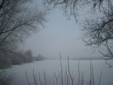 059 - Voordorp: de drinkwaterplas in een winterse outfit