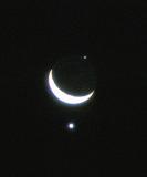 Moon, Venus and Regulus transit - 5 october 1980
