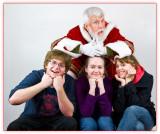 Self Portrait: Father Christmas/Pere Noel/ Дед Мороз/Vater Weihnachten/Pai Natal