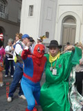 Spiderman and Stephan