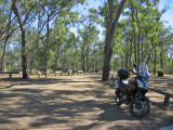 Motorcycle ride to Kinbombi Falls