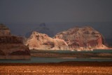 Storm brewing over Lake Powell