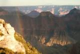Rainbow on Grand Canyon North Rim
